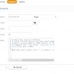 Ajenti V PHP FastCGI