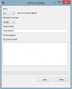 Fat32 Format GUI