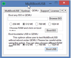 Multiboot USB Qemu