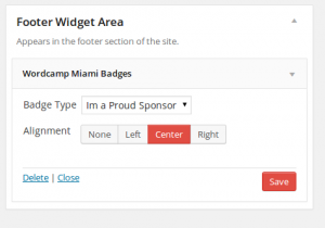 Wordcamp Miami WordPress Plugin Widget