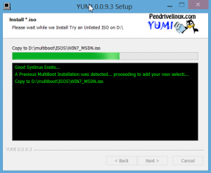 Yumi Multiboot Install Windows