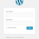WordPress Login Form wp-login.php