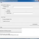 McAfee Sharepoint Discovery Tool