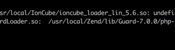 undefined symbol: executor_globals